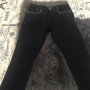 Denim - Plus size black jeans